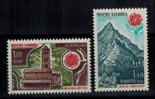"(b12)  timbres d'Andorre Français n° 269/270 neufs** année 1978 ""europa"""