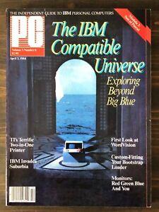 PC Magazine - April 3, 1984, Vol. 3, No. 6