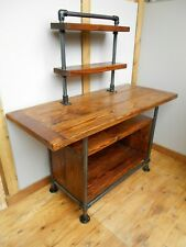 The Middleton Industrial Display/Kitchen/Cafe Island