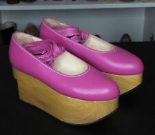 Vivienne Westwood Gold Label Rocking Horse Shoes Ballerina Pink UK5 US7.5