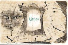 PIERRE-YVES TREMOIS - ENCORE UN INSTANT DE BONHEUR * ORIGINAL LITHOGRAPH 1963