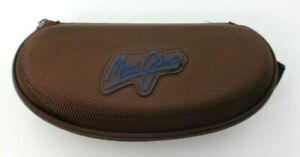Maui Jim Brown Sunglasses Soft Clamshell Zippered Case