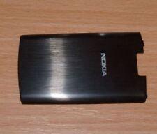 Genuine Original Nokia X3-02 Battery Cover Black Metal Steel