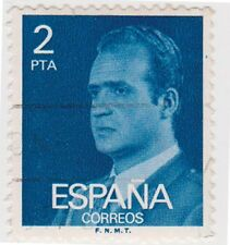 (SPB185) 1976 SPAIN 2p blue king Carlos ow2395
