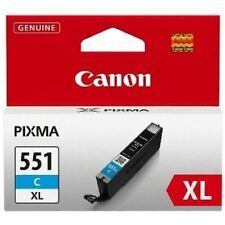 Genuine Canon CLI-551XL Cyan Ink Cartridge for Pixma iP7250 MG6350 MG5450 MG5550