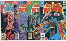 Batman & the Outsiders #1 - 31, Annual 1, 2  Complete Run avg. VF/NM to NM- 1983