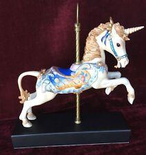 "Cybis Porcelain ""Carousel Unicorn"" #257/325  13.25"" L/E Collectible 1986"
