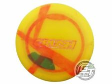 Used Discraft Elite Z Crush 172g Yellow White Stamp Distance Driver Golf Disc