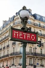 Paris Metro Entrance Sign Journal : 150 Page Lined Notebook/Diary by C. S....