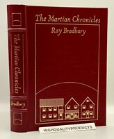 SIGNED Easton Press MARTIAN CHRONICLES Bradbury Collector's LIMITED Edition SEAL