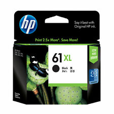 2017 HP 61XL Black Genuine Ink Cartridge (CH563W) For Deskjet 1000 1050 2050