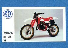 MOTOR SHOW -Baggioli 1986- Figurina-Sticker n. 59 - YAMAHA 125 YZ -New