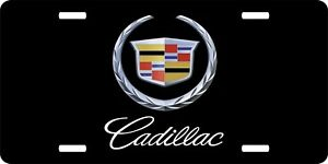 Cadillac License Plate Automotive Aluminum Metal License Plate