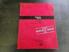 John Deere 270 Rotary Snow Plow Operator's Manual Om-Ga10225 Issue J2