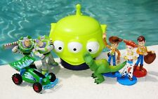Toy Story Character Playset Assorted Woody Buzz 7 Figures Lot Cake Topper Toys