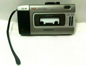 Radio Shack VOX Voice Activated Portable Cassette Recorder Model CTR-118 WORKS!