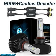 9005 HB3 9145 1800W LED Headlight Conversion Light Bulbs with Canbus Decoder