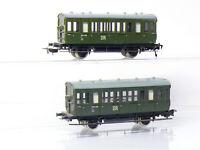 Piko 5/6515/010 für Bastler H0 2 x Personenwagen B  DR(DDR) mit Mängeln