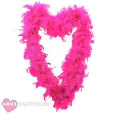FEATHER BOA 65 GRAM HEN BURLESQUE FANCY DRESS HALLOWEEN COSTUME ACCCESSORY LOT