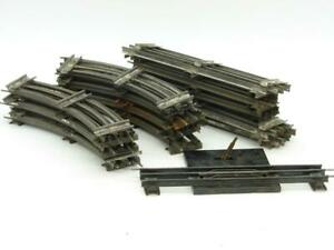 American Flyer O Gauge 25 Piece Banked Track Lot 10 Straight 14 Curve 1 Uncouple
