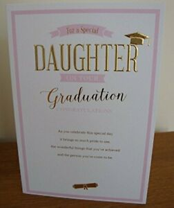 Special Daughter On Your Graduation Card