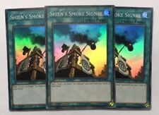 Yu-Gi-Oh! SPWA-EN015 - Shien's Smoke Signal Playset (x3) - 1st ed. - Super Rare