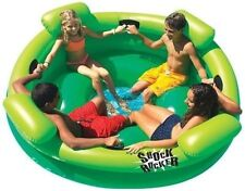 New listing Portable 75 Dia Inch Inflatable Swimming Pool Kid Lounger Rocker Float Brand New