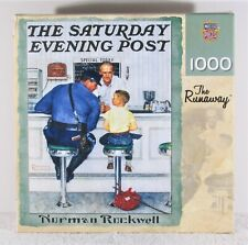 MasterPieces 1000 Piece Norman Rockwell The Runaway Jigsaw Puzzle