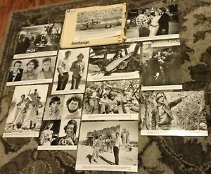 FANDANGO RARE SET OF 12 1984 PROMO B/W PHOTOS STILLS Kevin Costner Judd Nelson
