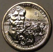BU US 2018 Sacagawea Native American Jim Thorpe WA-THO-HUK dollar $1 coin P or D