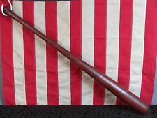 """Vintage Draper Maynard D&M Wood Baseball Bat HOF Ed Mathews Model Semi Pro 35"""""""