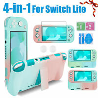 Protective Case Cover Shell+Kickstand+Screen Protector for Nintendo Switch Lite