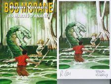EO BOB MORANE HC N° 64 + RÉMY GALLART + EX LIBRIS SIGNÉ : LES MARAIS D'ANANKÉ