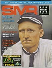 2012 PSA Sports Market Report and Price Guide Walter Johnson 1961 Fleer Baseball