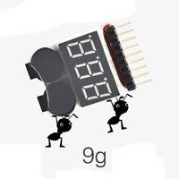 3.7 - 30 v 1 - 8 s / fe / li ion lipo battery low voltage Buzzer alarm 2 in 1