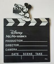 11X11 Disney MGM Movie Clap Board Prop ACTION Toy vintage