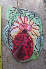 New listing House Garden Mailbox Flag Lady Bug Ladybug sunflower spring summer sculpted fall