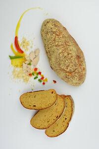 (10,67€/kg) Ciabatta mit Paprika - Eiweißbrot - ketogene Ernährung, low carb