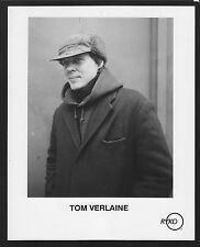 Vintage Original Ltd Edition Promo Photo 8x10 Tom Verlaine circa 1991