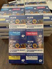 Alps Printer MD 1000-5000 Ink Cartridges, 4 pk Magenta, Cyan, Yellow, Photo NEW