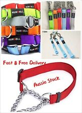 Adjustable Martingale Chain Choker Dog Training Chain W1.5Cm 27-40cm