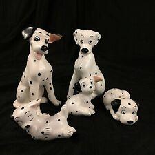 Disney 101 Dalmatians Family Figurines Set of 5 Pongo Perdita Three Puppies