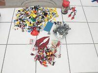 4.65 pound Lego lot 1 Kreo Set Transformer A2201 Bionicles, 8592,figures parts+