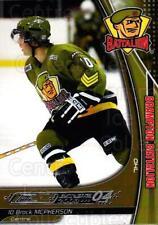 2003-04 Brampton Battalion #14 Brock McPherson