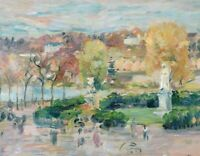 Landscape In Tours Berthe Morisot Fine Art Print on Canvas Giclee Repro Small
