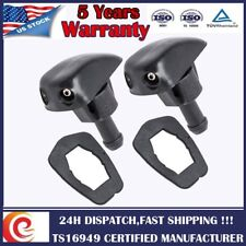 2 Pack Plastic Window Windshield Washer Spray Wiper Sprinkler Nozzle Trucks SUV