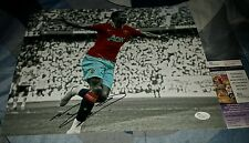 Nani 2016 Euro Champion Portugal Signed 11x14 in person JSA CERTIFIED