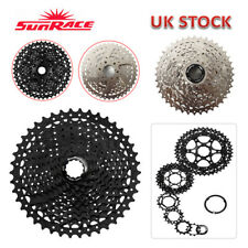 SUNRACE 40/42/46T MTB Bike Cassette 8/9/10/11s KMC Sprocket Chain Cassettes Hook