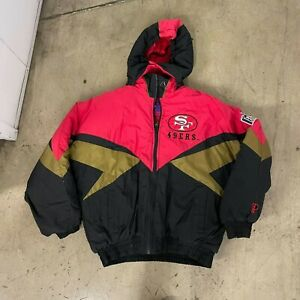 Vintage Pro Player San Francisco 49ers Stitched  Double Sided Jacket