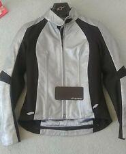 Alpinestars Womens Vika Leather Motorcycle Jacket Size 44 8